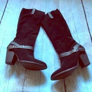 Dolce Vita Hawthorne Suede Heeled Boots